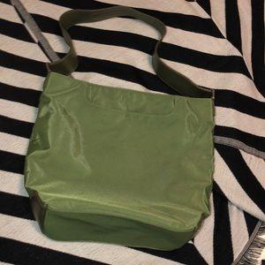 Tumi nylon bag with front and zip pockets